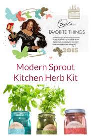 Kitchen Herb by Kitchen Herb Kit U2013 Oprah U0027s Favorite U2013 Fab Fitness Pop