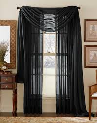 Crushed Voile Sheer Curtains by Curtains Voile Curtains Awesome Black Voile Curtains Cool Voile