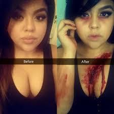wound halloween makeup bloody wound halloween tutorial 2014 youtube