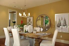 Dining Room Dining Room With Wall Paintings Also
