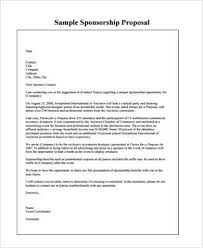 event sponsorship proposal form samples 9 free documents in pdf
