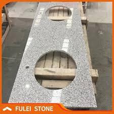 chinese lowes prefab meteorite white g603 granite bathroom