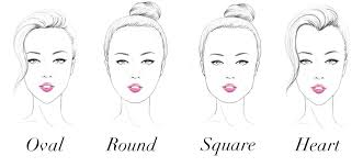 face shapes and hairstyles to match hairstyles for different face shapes myhairbay blog