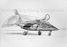 aviation art pencil drawing