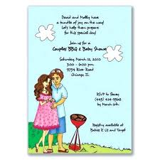 couples baby shower bbq invitation wording baby shower invitations lovely coed
