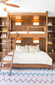 Wooden Bunk Bed Design by 61 Best Bunk Beds Images On Pinterest Bunk Rooms Bunk Beds And