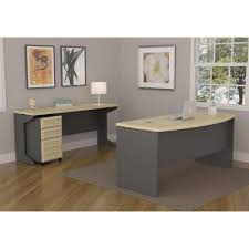 Computer Desk With File Cabinet by Altra Furniture Pursuit Natural And Gray File Cabinet 9523096