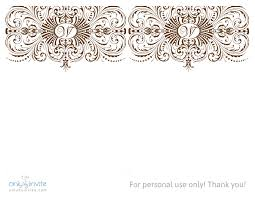 Designs For Invitation Cards Free Download Fall Wedding Invitation Templates Blank