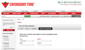 canadian tire tire parts selector alex pandelidis