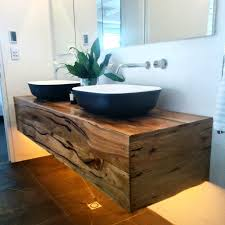 Wooden Vanity Units For Bathroom The Judges Loved Our Custom Floating Timber Vanity Unit In Josh