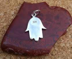 hamsa sterling silver necklace images Hamsa hand sterling silver hamsa hand with etched evil eye hamsa jpg