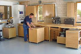 Garage Workshop Organization Ideas - an interesting concept this approach would make rearranging