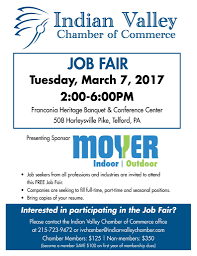 Job Fair Resume by Indian Valley Chamber Of Commerce Job Fair Souderton Telford