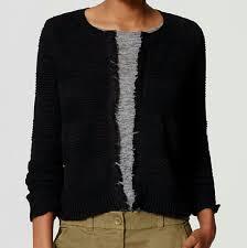 black fringe sweater 75 loft sweaters loft black fringe sweater