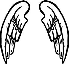 simple wing tattoos clipart library clip library