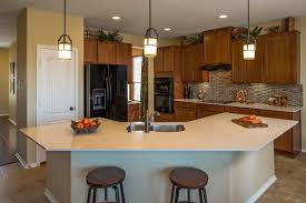 georgetown kitchen cabinets plan a 2502 modeled u2013 new home floor plan in la conterra classic