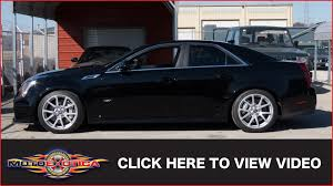 2009 cadillac cts v sedan sold youtube