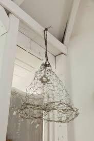 Chicken Wire Chandelier Wire Lampshade Lapshade Pinterest Wire Lampshade Wire Art