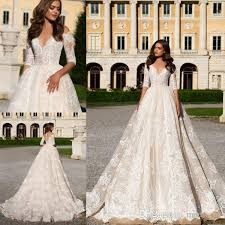 wedding dress 2017 lace gown wedding dresses 2017 milla sheer plunging