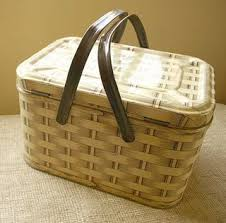 kids picnic basket we will always two for tuesday martha stewart doily