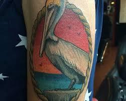 pelican tattoo jim galloway floral tattoo jason covington key west