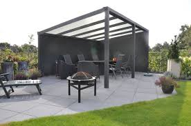 Patio Gazebo Ideas by Bright Glass Gazebo Canopy Feats With Tripod Outdoor Fire Pit And