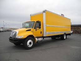 used van trucks straight trucks and box trucks for sale