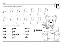 letter p phonics activities and printable teaching resources