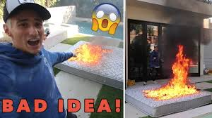 Lit Bed Up We Lit A Bed On Fire Gone Wrong Youtube