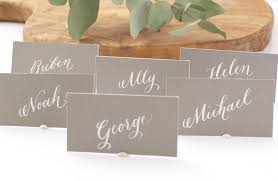 Placecards Place Cards U2014 Fluid Calligraphy