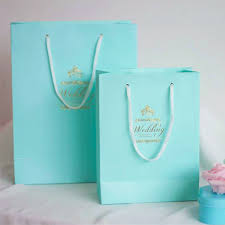 gift bags hot sale blue diy gift bags wedding favor bag ewfb005 as