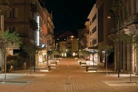 illuminazione a pavimento illuminazione pubblica a led nuovi scenari luminosi a bellinzona