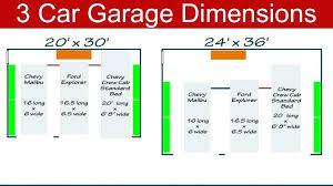 size of a three car garage average garage dimensions large size of garage depth average car