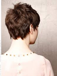 back viewof short shag hairdstyles pixie haircut back view hair cuts pinterest pixie haircuts