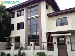 3 Storey House Plans 3 Storey Brandnew Modern House For Sale In Bf Homes Http