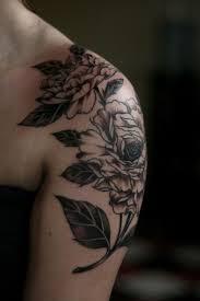 black shoulder tattoo 25 best ink images on pinterest tatoo tattoo ideas and flowers