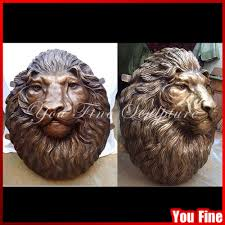 bronze lion head sculpture bronze lion head sculpture suppliers