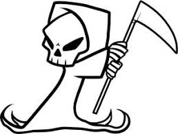 how to draw how to draw a grim reaper for kids hellokids com