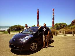 stanced nissan leaf a kiwi eventure from the cape to bluff by electric car