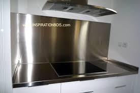 tole inox pour cuisine tole inox pour cuisine 14 avec credence aluminium on decoration d