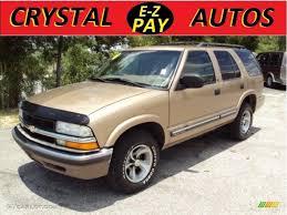 gold color cars 2000 sunset gold metallic chevrolet blazer ls 30770324 gtcarlot