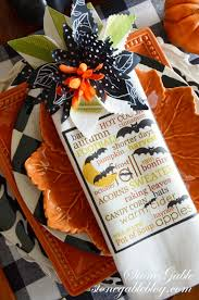 thanksgiving napkin rings craft 5 interesting ways to use napkins and napkin rings a tablescape