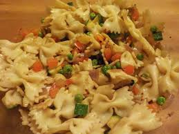 a hopeful nature simple pasta salad