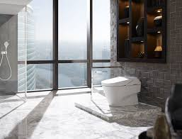 bathroom amusing bathroom design with floor to ceiling window and