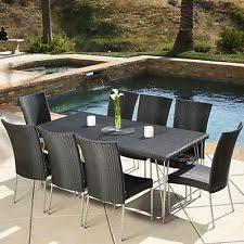 berkley jensen rockport 9 pc high top tile dining set outdoor deck