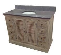 48 single sink vanity with backsplash the elegant legion 48 inch rustic single sink bathroom vanity wk1948