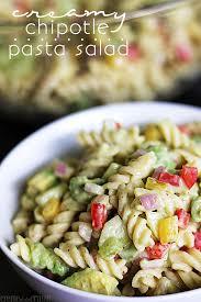 creamy pasta salad recipe creamy chipotle pasta salad creme de la crumb