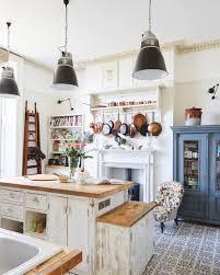 cuisine rustique blanche 1001 idées pour aménager une cuisine cagne chic charmante