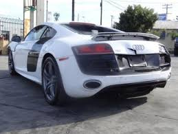 damaged audi for sale 2011 audi r8 quattro 5 2l repairable salvage wrecked damaged