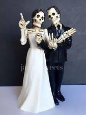skeleton wedding cake toppers skeleton groom ebay